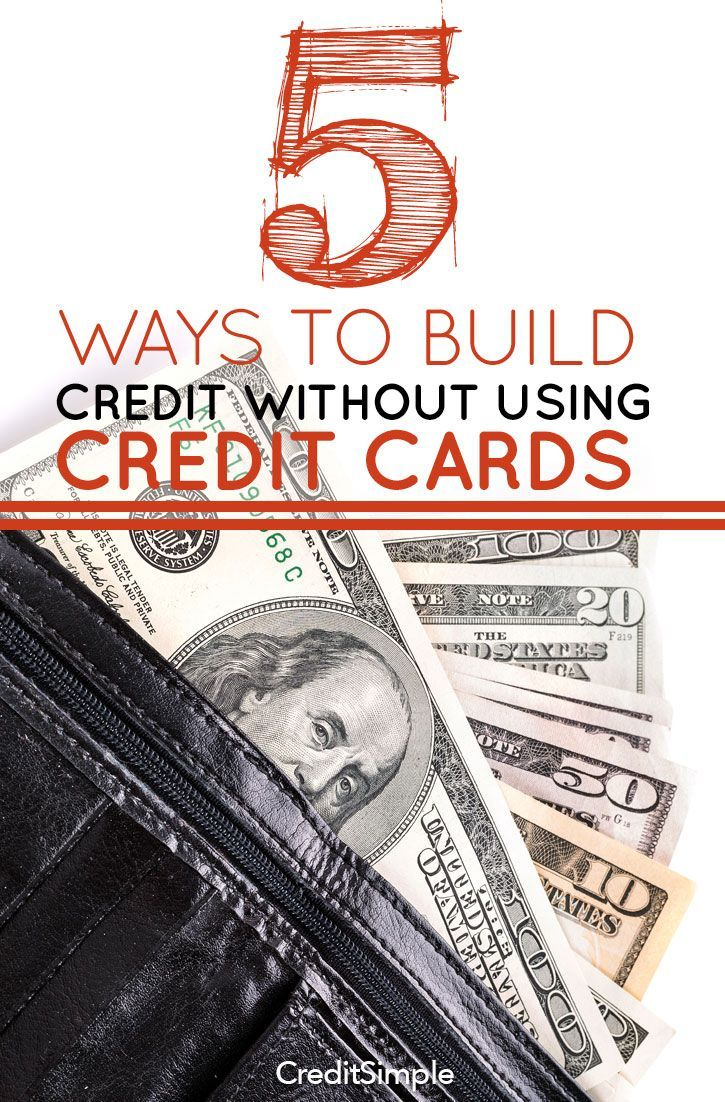 Best 25 credit cards ideas on pinterest credit card interest 5 ways to build credit without using credit cards ccuart Images