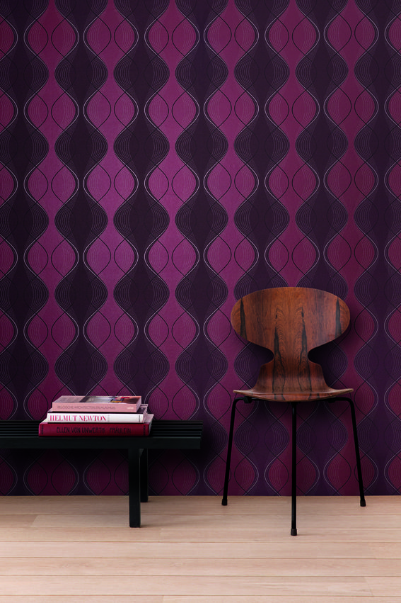 Twist | TWI204 | Non woven wallcovering | www.khroma.be