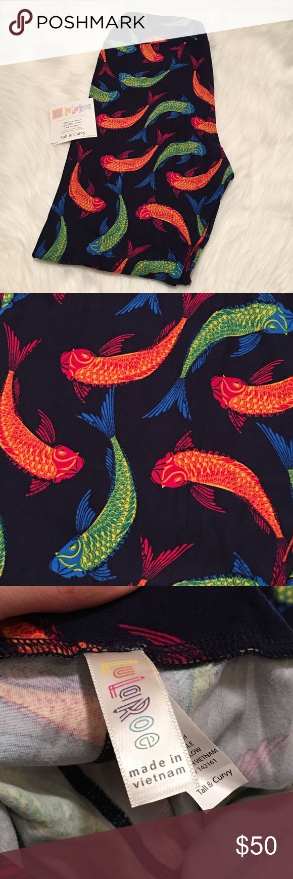 500 freshwater aquarium fish by greg jennings - Nwt Lularoe Tc Koi Fish Leggings Unicorn No Comments On Pricing