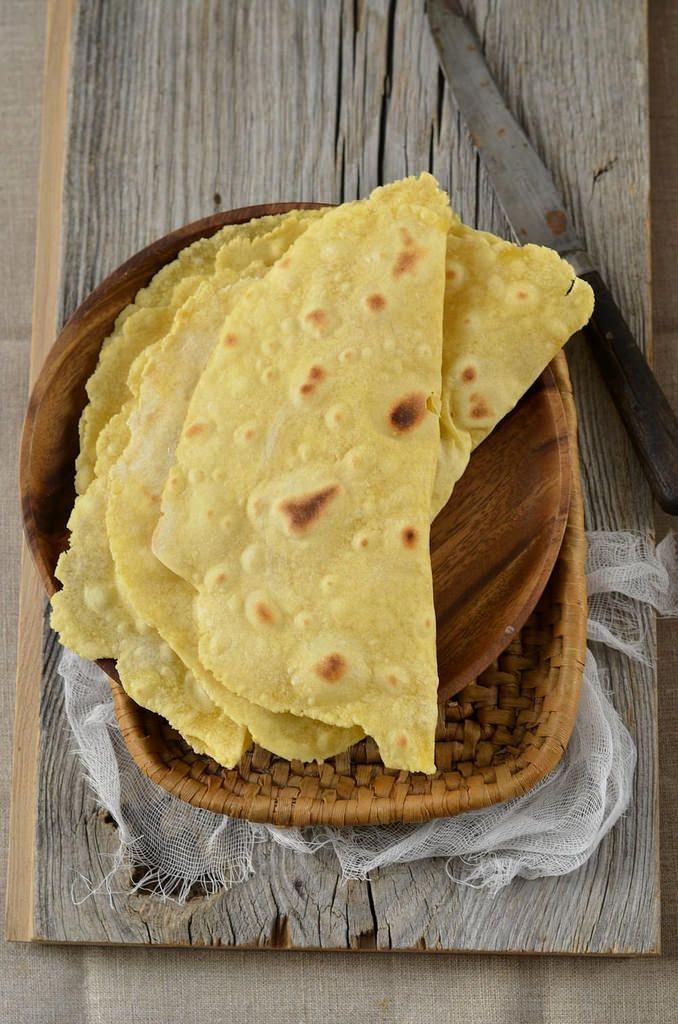 Tortillas maison à la farine de maïs - Tangerine Zest