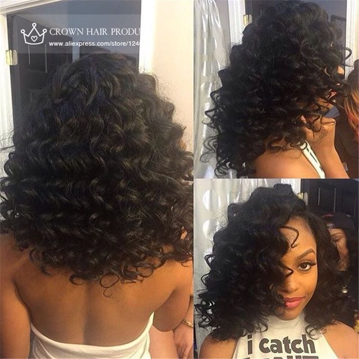 Surprising 17 Best Images About Deep Wave Curly On Pinterest Lace Closure Short Hairstyles Gunalazisus