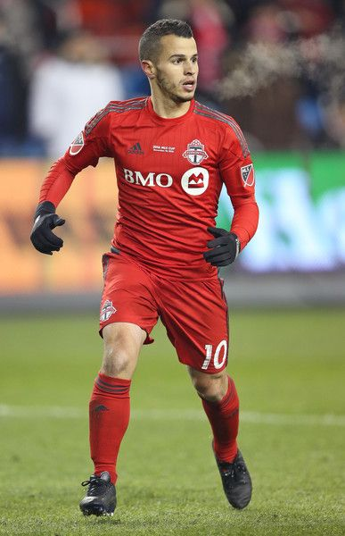 Sebastian Giovinco #10 of the Toronto FC plays against the Seattle Sounders during the 2016 MLS Cup at BMO Field on December 10, 2016 in Toronto, Ontario, Canada. Seattle defeated Toronto in the 6th round of extra time penalty kicks. - 2016 MLS Cup - Seattle Sounders v Toronto FC