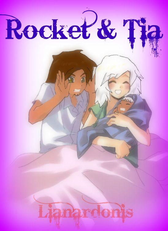 Tia, Rocket and baby by lianardonis.deviantart.com on @DeviantArt