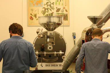 Live action - Jacobsen & Svart Coffee Roastery - Trondheim - Norway