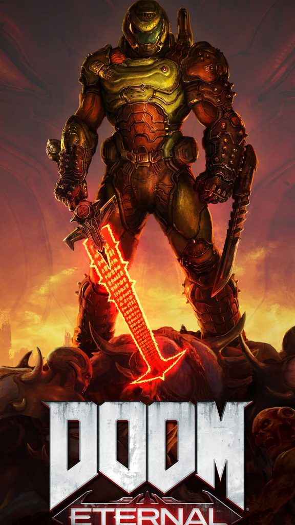 Doom Eternal 2020 4k Ultra Hd Mobile Wallpaper Doom Videogame Doom Game Doom