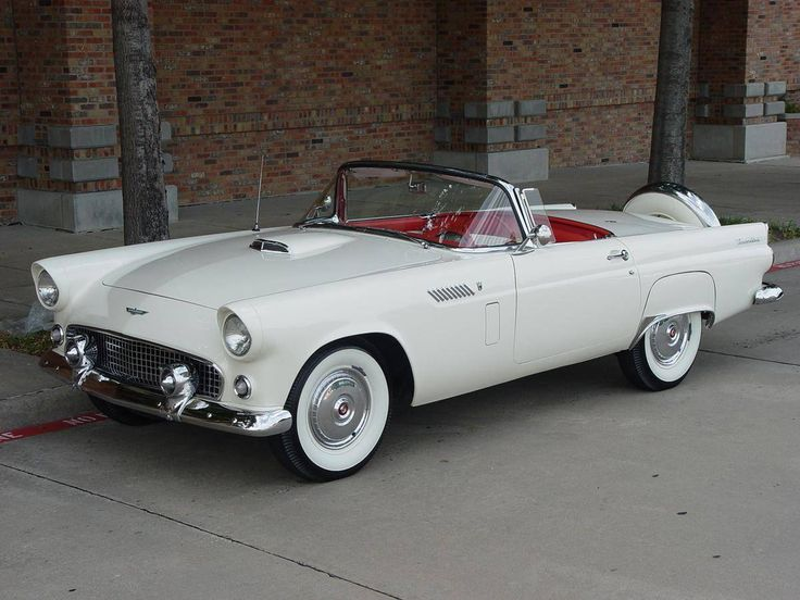 1956 Ford Thunderbird. I think this is one of the most beautiful cars, ever.