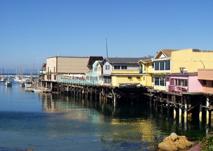 Monterey bay wharf restaurants with you