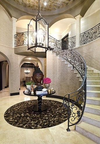 Khloekardashian 39 s california home stairwell - Khloe kardashian house interior ...