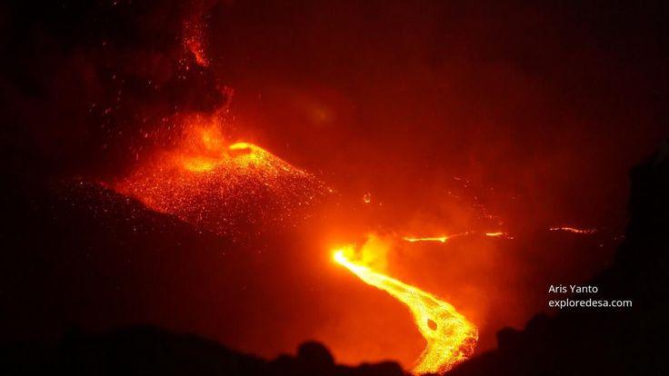 Mount Raung Volcano Eruption Indonesia