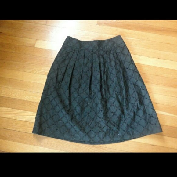 "Loft eyelet skirt Classic and cute! Waist approx 15.5"" and length 24"" open to offers :) LOFT Skirts"