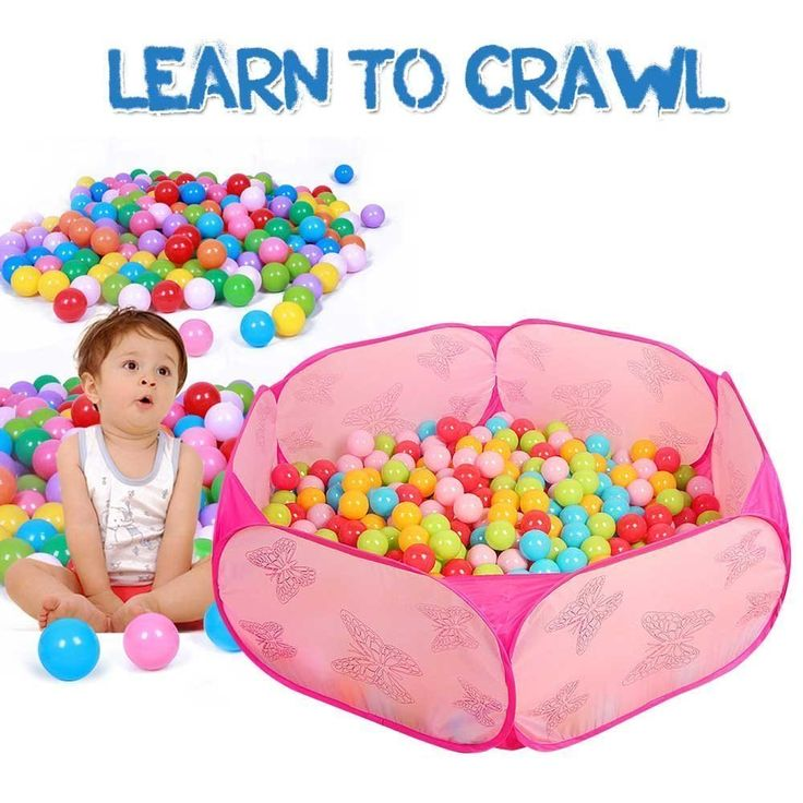 ball pit for babies. toddler ball pit kids pop up pink baby playpen indoor hexagon ocean sea infant pool, best birthday gift toy for 1 to 2 year old little girl babies