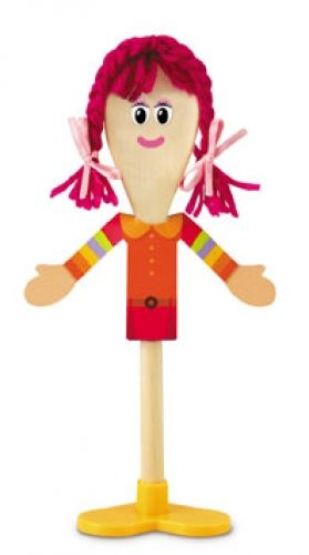 Wooden Spoon Puppet