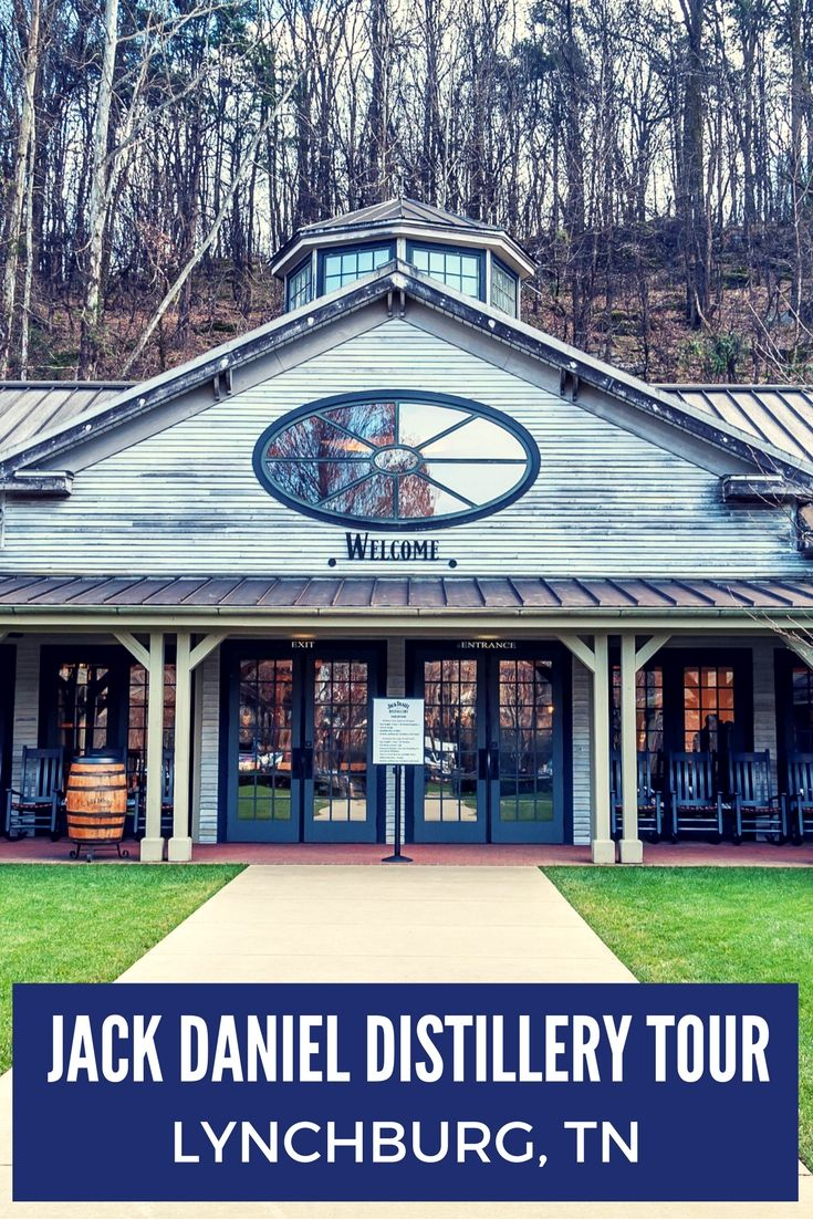 All Jack Daniel's whiskey in the world is made in Lynchburg, Tennessee. At the distillery, you can taste the products, see the production, and learn the story of the man himself.