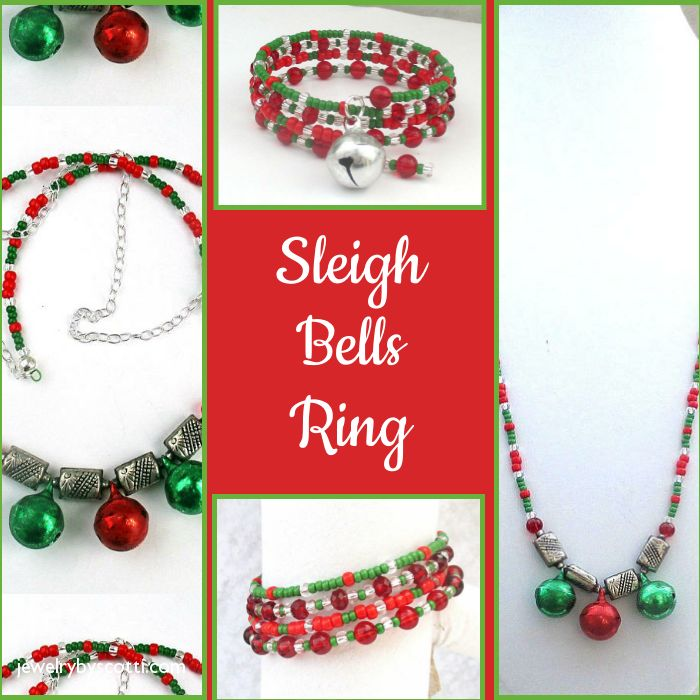 Sleigh bells ring -- are you listening? Shop Jewelry by Scotti now for fun, festive, fabulous holiday jewelry: https://small.bz/AAoNbBu #handmadejewelry #christmasjewelry https://www.etsy.com/shop/JewelryByScotti