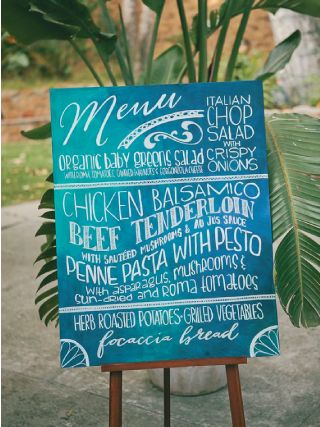 Wedding Stationery Inspiration: Shades of Ocean Blue