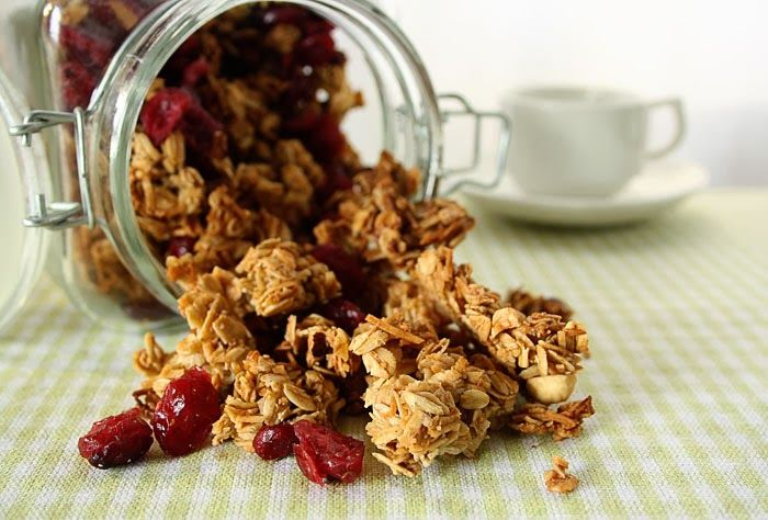 Let's Feast: Granola Clusters
