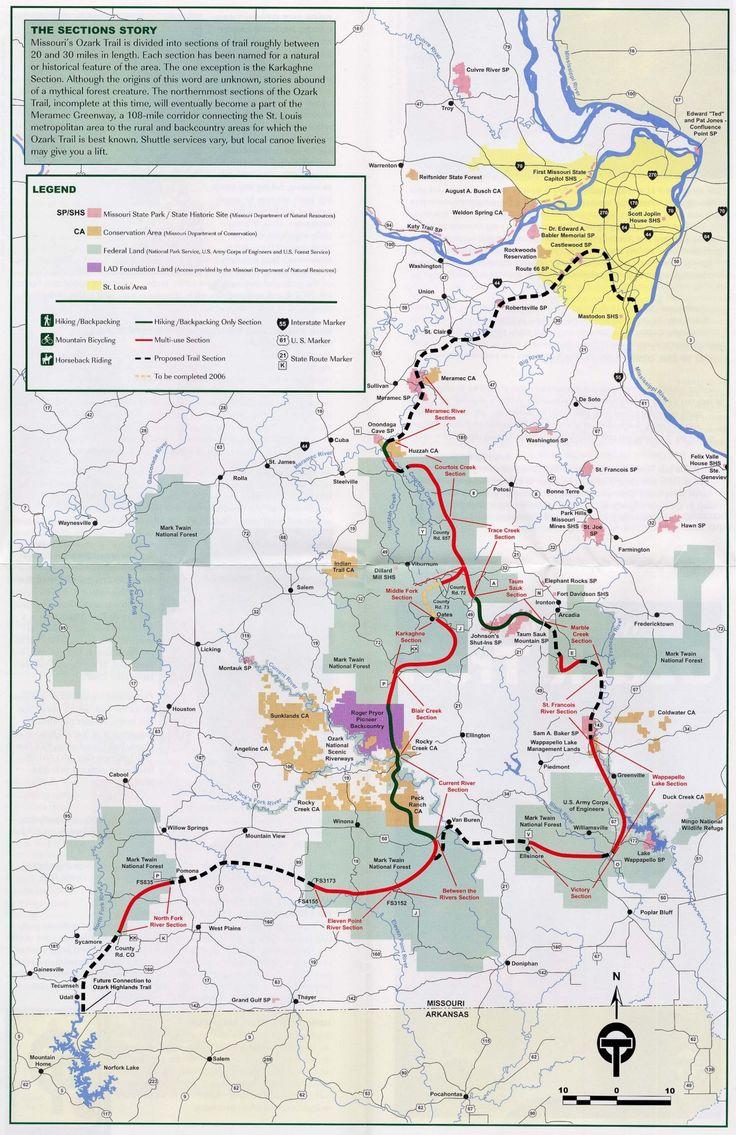 The Best Ozarks Map Ideas On Pinterest Branson Missouri - Ozark plateau on us map