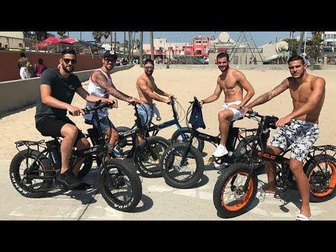 ¡En bici! Así se divierten los jugadores del Real Madrid en su rato libre