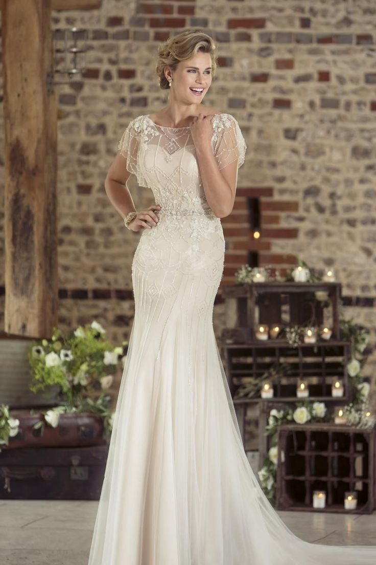 Contemporary Wedding Dresses and Vintage Inspired Bridal Gowns | W239 | True Bride