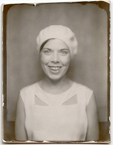 ** Vintage Photo Booth Picture **  Happy Days...: