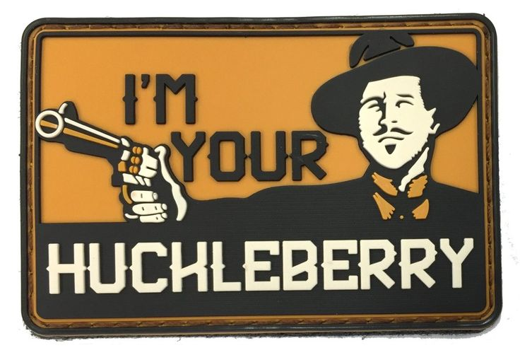 I'm Your HuckleBerry - Morale Patch