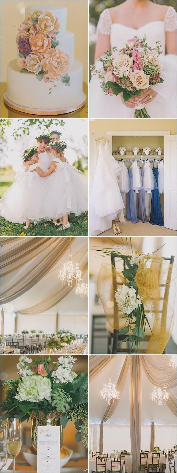 Elegant formal wedding reception idea; photo: Tara McMullen Photography