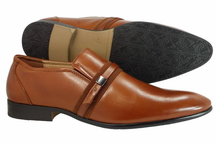 Details about Mens Dress Shoes Majestic Collection Slip on Loafers ...