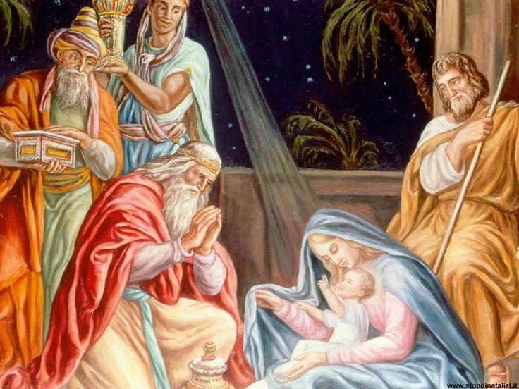 Sfondo Natalizio - Sfondo natalizio religioso