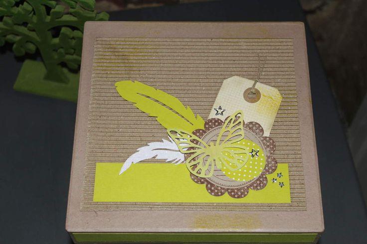 Boîtes de rangement pour cartes - cartes réalisées