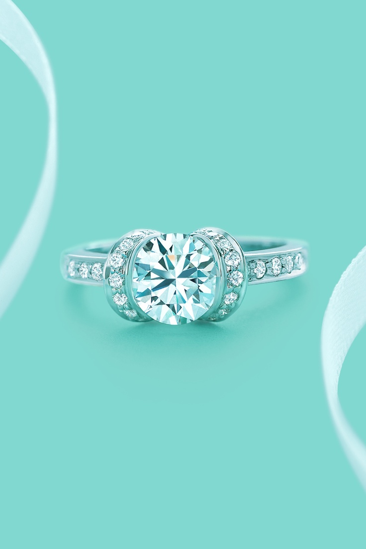 Best 25+ Tiffany Promise Rings Ideas That You Will Like On Pinterest   Beautiful Rings, Tiffany Rings And Tiffany Jewelry