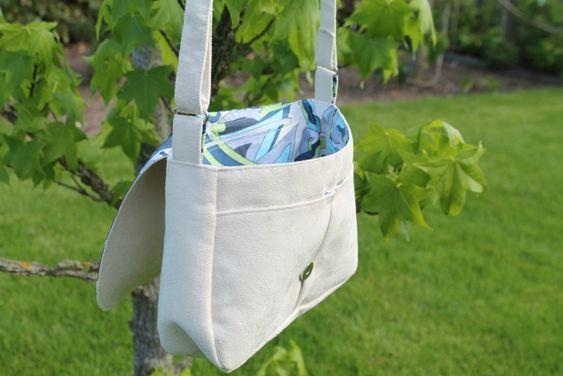 Les 25 meilleures id es de la cat gorie patrons de sac bandouli re sur pinterest mod le de sac - Tuto sac besace bandouliere ...