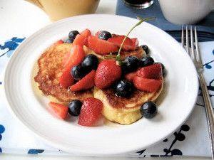 Ricotta Pancakes, gluten free, gf, gluten free breakfast recipe