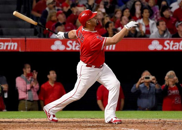 MLB's 600 home run club members:     9. Albert Pujols ‐‐ 600. Pujols hit his 600th home run off Twins' Ervin Santana on June 3, 2017.