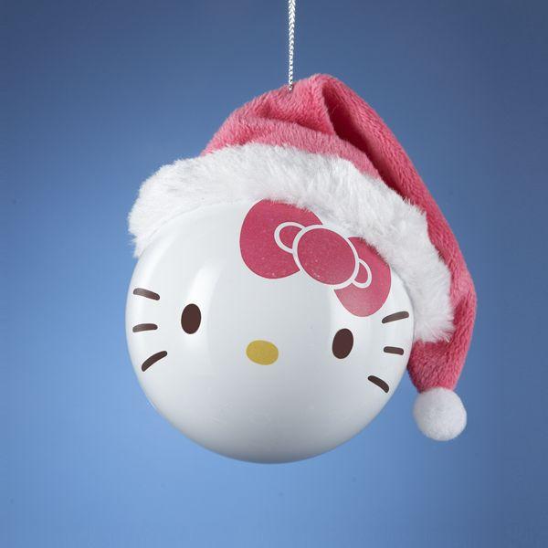 hello kitty santa claws christmas tree decoration from retrofestive.ca
