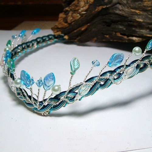 Heart of Atlantis Elven Headdress Circlet