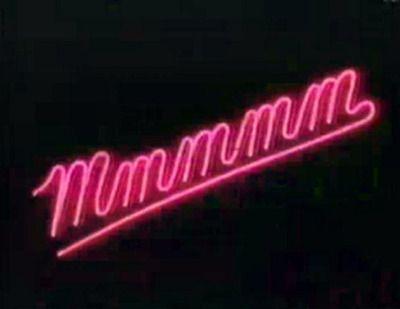 Mmmmm - neon light.