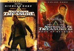 National Treasure / National Treasure 2: Book of Secrets  https://www.amazon.com/dp/B00BQRY4C6/ref=cm_sw_r_pi_dp_xGiMxb22H35GS