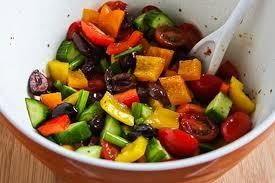 Bell Pepper Salad with Fig Balsamic Recipe