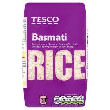 Tesco Basmati Rice 500G