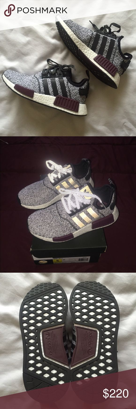 adidas NMD R1 Glitch Camo Midnight Grey/White Midnight Grey 5.5