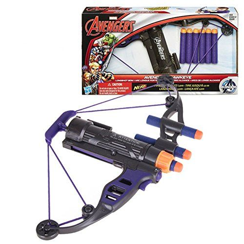 Nerf Avengers Hawkeye Bow Shooting Toys Gun Pistol Soft Bullet Elite Series Blaster Machine Guns Toy 12M Range Gift for Kid >>> You can get additional details at the image link. (This is an affiliate link and I receive a commission for the sales)
