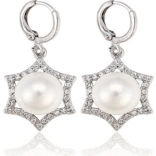 Juvel Jewelry Fashion Hot Sale Little Earring With Rhodium Plated 27928