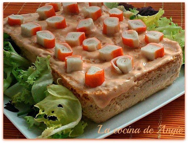 La cocina de Angie: PASTEL DE ATÚN AL MICROONDAS   Estuches y moldes Lekue a la venta aquí: http://www.cornergp.com/tienda?bus=lekue