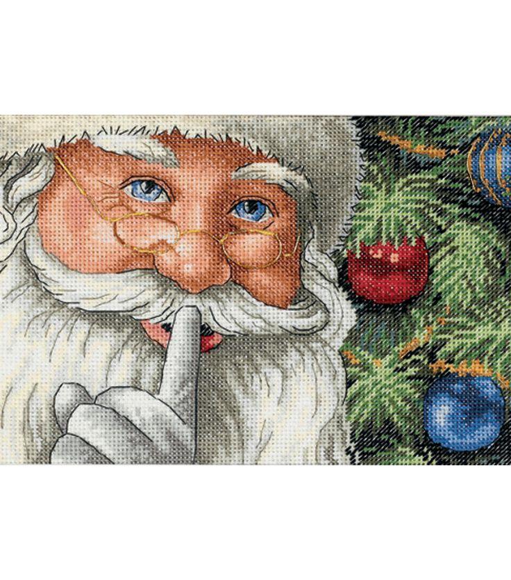 Dimensions Counted Cross Stitch Santa's SecretDimensions Counted Cross Stitch Santa's Secret,