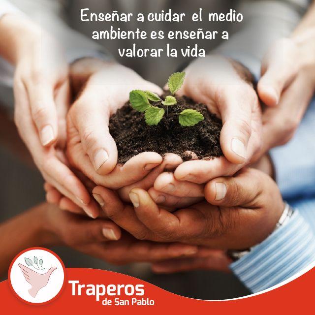 ncentivemos el cuidado y protección del medio ambiente, todos debemos ser parte del cambio. #Reciclaje #Donación #Ecología #Perú  http://traperiasanpablo.org/