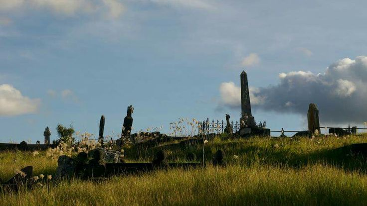 Waikumete cemetery landscape, Glen Eden, Auckland, New Zealand. 50mm lens Panasonic Lumix GH1