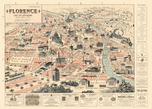 Cavallini-Florence-Map-Flat-Wrap