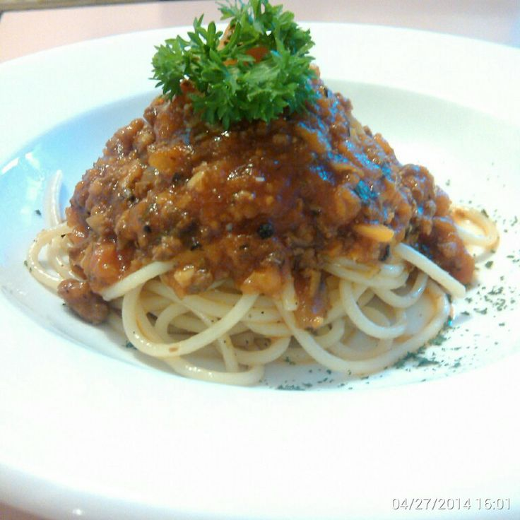 Spaghetti Bolognese.. #GaremGarem #GoodFood #Bandung #Indonesia