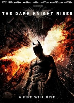 DVD: Batman- The Dark Knight Rises. Christian Bale, Anne Hathaway, Gary Oldman, Tom Hardy, Joseph Gordon-Levitt, Marion Cotillard, Morgan Freeman, Michael Caine  #gifts #holidays #christmas #DVD