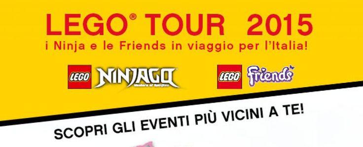 A Salerno una tappa del LEGO® tour 2015